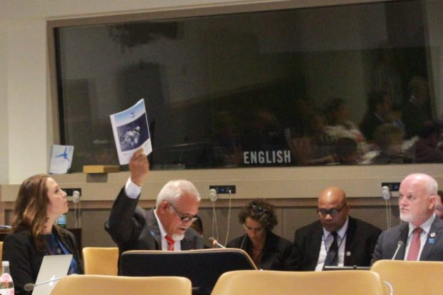 Report on Pacific Island Whales – and Whale Carbon – Launched at UN Ocean Conference